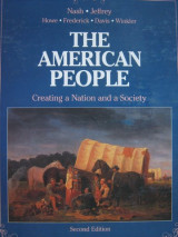 American People Creating a Nation and a Society
