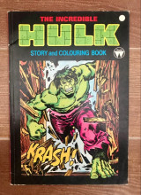The Incredible Hulk (story and colouring book)