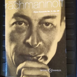 Serge rachmaninoff piano concerto no. 3 op. 30 reduction for 2 pianos