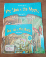 The Lion and the Mouse [Book + Multi-rom (audio CD/Dvd)]