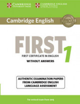 FCE Practice Tests Cambridge English First 1 for Revised Exam from 2015 Student's Book without Answers: Authentic Examination Papers from Cambridge English Language Assessment