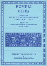 Homeri Opera Τόμος 4