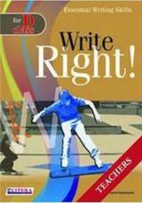 Write Right for D Class: Teacher's Book