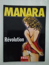 Milo Manara Revolution (περιοδικό Free)