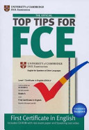 Top Tips for FCE.