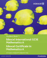 Edexcel International GCSE Mathematics A Student Book 1 with ActiveBook CD