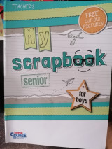 My scrapbook senior (for boys) teacher's book
