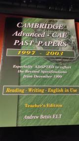 Cambridge Advanced - Cae Past Papers 1997-2003 Teacher's Edition