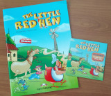 The Little Red Hen Story Book (Book + Multi-Rom)