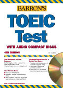 Barron's TOEIC Test with Audio CDs