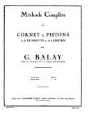 Méthode complète de cornet à pistons