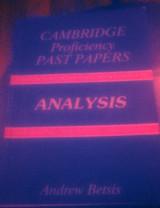 Cambridge Proficiency Past Papers 1984-1994 Analysis