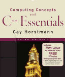 Computing Concepts with C++ Essentials