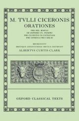 M. Tvlli Ciceronis Orationes vol I